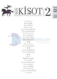 Son Kişot Sayı: 2Gelmiş Geçmiş Tüm Ürünler DergisiOcak - Şubat 2003