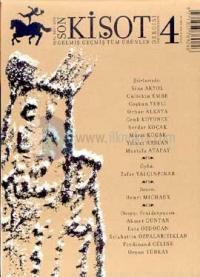 Son Kişot Sayı: 4Gelmiş Geçmiş Tüm Ürünler DergisiMayıs - Haziran 2003