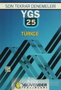 Son Tekrar Denelemeleri Ygs 25 Türkçe