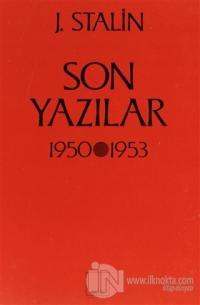 Son Yazılar 1950-1953 %10 indirimli Josef V. Stalin