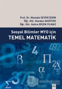 Sosyal Bilimler MYO İçin Temel Matematik
