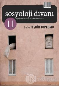 Sosyoloji Divanı Sayı: 11 Ocak - Haziran 2018