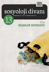 Sosyoloji Divanı Sayı: 13 Ocak - Haziran 2019