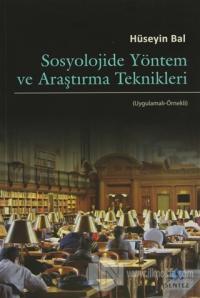 Sosyolojide Yöntem ve Araştırma Teknikleri