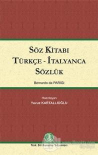 Söz Kitabı Türkçe - İtalyanca Sözlük (Ciltli)
