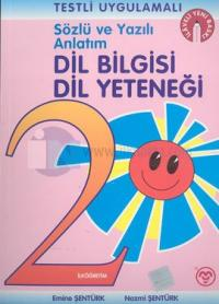 Sözlü ve Yazılı Anlatım Dil Bilgisi Dil Yeteneği İlköğretim 2