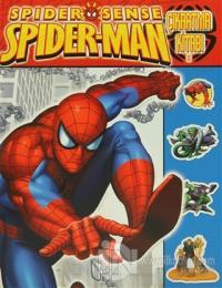 Spider-Sense Spiderman Çıkartma Kitabı 1