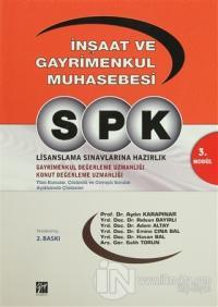 SPK 3. Modül - İnşaat ve Gayrimenkul Muhasebesi