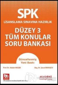 SPK Lisanslama Sınavına Hazırlık Düzey 3 Tüm Konular Soru Bankası