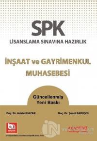 SPK Lisanslama Sınavına Hazırlık İnşaat ve Gayrimenkul Muhasebesi