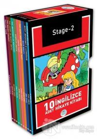 Stage-2 İngilizce Hikaye Seti (10 Kitap Kutulu)