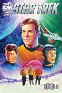 Star Trek Sayı: 1 - Nostalji Kapak %25 indirimli Mike Johnson