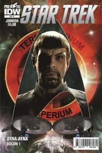 Star Trek Sayı 15: Ayna Ayna Bölüm 1 Mike Johnson