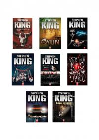 Stephen King 8 Kitap Takım
