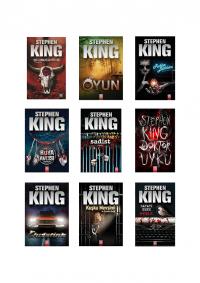 Stephen King 9 Kitap Takım