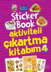 Sticker Book Aktiviteli Çıkartma Kitabım 4
