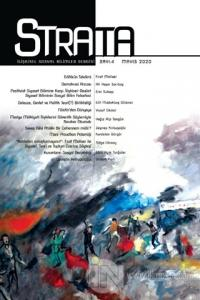 Strata İlişkisel Sosyal Bilimler Dergisi Sayı: 4 Mayıs 2020