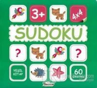 Sudoku 4x4 - Yeşil Kitap