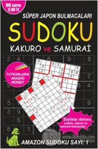 Sudoku, Kakuro ve Samurai - Amazon Sudoku Sayı 1