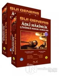 Sui Generis Adli Hakimlik Çözümlü Hukuk Soruları (2 Cilt Takım)