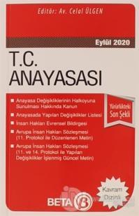 T.C. Anayasası (Eylül 2020) Celal Ülgen
