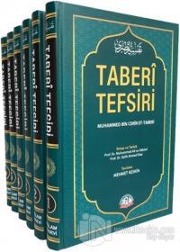 Taberi Tefsiri Kur'an-ı Kerim Tefsiri Tercümesi (6 Cilt Takım) (Ciltli)