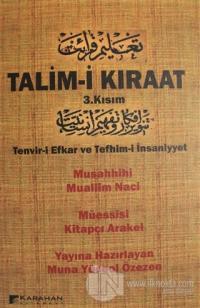 Talim-i Kıraat 3. Kısım