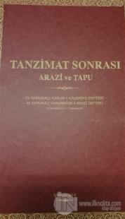 Tanzimat Sonrası Arazi ve Tapu (Ciltli)