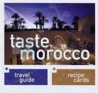 Taste Morocco (Ciltli)