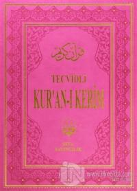 Tecvidli Kur'an-ı Kerim  (Cami Boy Pembe Cilt)