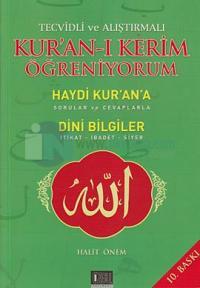 Tecvidli ve Alıştırmalı Kur'an-ı Kerim Öğreniyorum