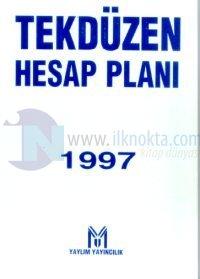 Tekdüzen Hesap Planı S. Muhasebecilik ve A.M. Mali Müşavirlik Mevzuatı Sermaye Piyasası Kanunu 1997