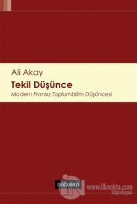Tekil Düşünce %15 indirimli Ali Akay