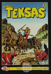 Teksas (Renkli) Nostaljik Seri Sayı: 5