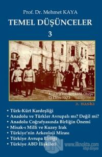 Temel Düşünceler 3 %5 indirimli Mehmet Kaya