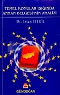 Temel Konular Işığında Annan Belgesi'nin Analizi