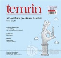 Temrin Aylık Düşünce ve Edebiyat Dergisi Eylül 2020 Sayı: 107