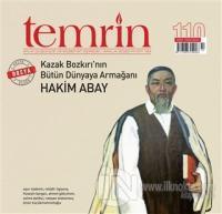 Temrin Aylık Düşünce ve Edebiyat Dergisi Sayı: 110 Aralık 2020 Kolekti