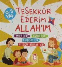 Teşekkür Ederim Allah'ım (4 Kitap Takım) Kolektif