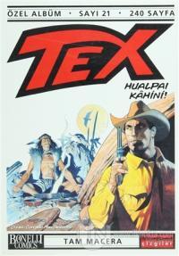 Tex Özel Albüm Sayı: 21 Hualpai Kahini