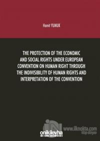 The Protection Of The Economic And Social Rights Under European Conven