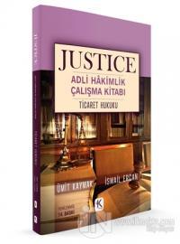 Ticaret Hukuku - Justice Adli Hakimlik Çalışma Kitabı