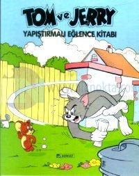 Tom ve Jerry Yapıştırmalı Eğlence Kitabı