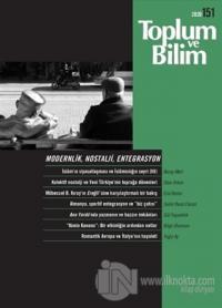Toplum ve Bilim Dergisi Sayı: 151