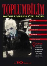 Toplumbilim Sayı: 10 Jacques Derrida Özel Sayısı