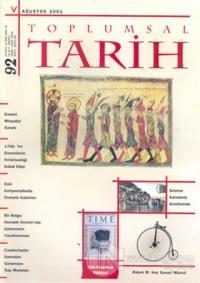 Toplumsal Tarih Dergisi Sayı: 92