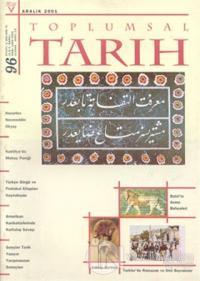 Toplumsal Tarih Dergisi Sayı: 96