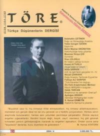 Töre Türkçe Düşünenlerin DergisiSayı: 2004/4
