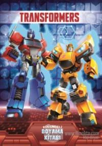 Transformers - Eğlenceli Boyama Kitabı