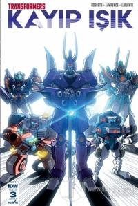 Transformers - Kayıp Işık (Bölüm 3 Kapak B)